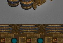 Game references - interior - crates