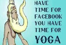 Yoga / Yoga poses, yoga inspiration and yoga equipment.