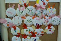 EASTER CRAFTS / Εaster crafts for school | Πασχαλινές δημιουργίες για το σχολείο