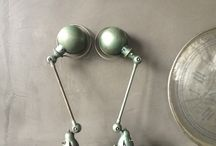 LOVT loves Jieldé / Industriële Jielde lampen. Industrial lamps Jieldé