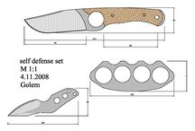 Models of knives