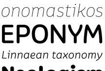 Design: Lettering & Fonts / Awesome lettering & Fonts