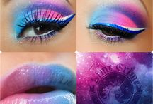 candy make-up / make-up inspiration