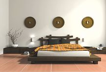 Design project 2015 / Designs for client wanting an oriental theme in their bedroom