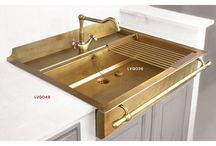 Brass sinks/hardware