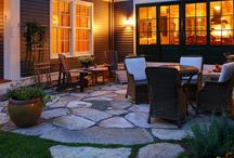 Patio and Deck / Backyard, patio, and deck ideas.  / by Sasha Franzen