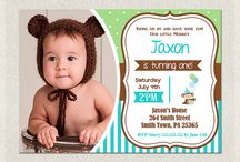 Party invitations / Toddler invites