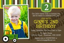 Gage's 2nd B-Day  / by Lisa Hays