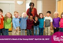 2017 Week of the Young Child / NAEYC's 2017 Week of the Young Child™ is back April 24–28! Celebrate our youngest learners with us as we dive into five fun themed days that will encourage learning through movement, teamwork, and much more! #woyc17