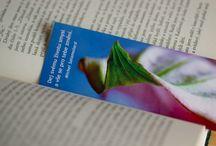 Svět záložek / Záložky do knih s přírodními motivy a citáty