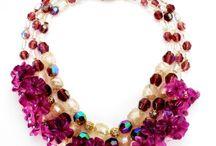 Necklace (collana) Attis di Annarita Vitali / conterie d'epoca (vintage beads)