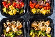 Sheet pan lunches