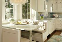 Bucătării albe