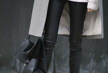 Fashion | How to wear leather pants