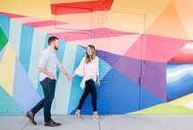 Nashville Engagement Inspiration / Top engagement photo locations in Nashville and great ideas for engagement photo poses.