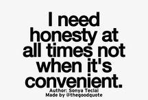 Value honesty