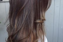 Hair Inspiration / Hair style inspiration! Shades of blonde, brunette, short, long and more