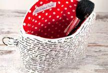 """Shop und Auftragsarbeiten """"Ladies"""" / Designbeispiele meiner Auftragsarbeiten für Ladies - Kosmetiktasche, Handtasche, Kissen, Makeup-Tasche, Shopper, Einkaufsbeutel...  Anfragen unter thecraftingcafe@posteo.de"""