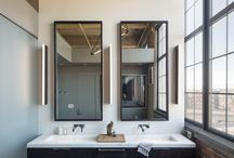 Bathroom designs / excuse me while I powder my nose... / by Emily Tierney
