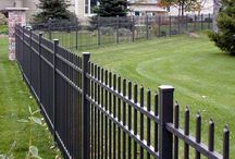 The fence.