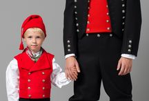 Norwegian traditional costumes men