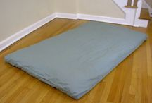Thai Shiatsu Massage Mats / Thai and Shiatsu massage mats, pillows, bolsters, blankets, and relaxation accessories. / by Sage Meditation