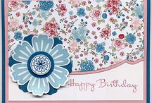 papercrafts - cards su / by Sandy Walters