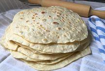 panes - tortillas de harina