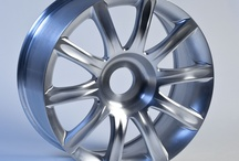 Wheel rim / Wheel rim programmed by CAM software hyperMILL