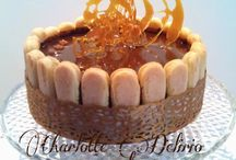 Torta di carnevale  / Crema pasticcerà e pasta di Zucchero