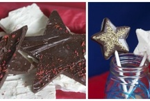 Patriotic Parties : Memorial Day & 4th of July / Recipes, crafts, and decorating ideas for memorial Day and the 4th of July