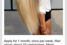 Măști pentru păr