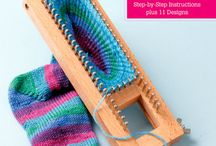 Crochet and knit socks
