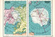 Arctic and Antarctic Maps
