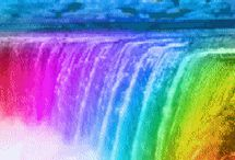 raibow waterfall