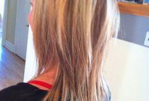 hair colours/cuts