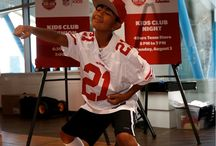 49ers Clubs & Youth Programs / Learn more about official activities for fans of all ages!