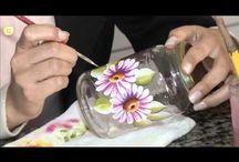 Pintura em vidro