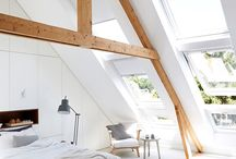 Wood Beam Ceilings / Whether raw, rustic, painted, or added afterward, I like them all.