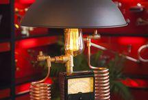 Steampunk DIY Industrial Pipe Lamp #10