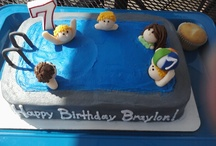 Cakes my boys have had.