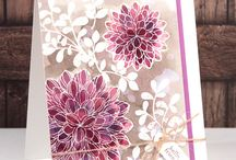 Cards with Flowers
