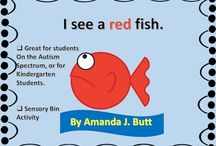 Preschool RED Theme / by Melissa Connelly