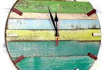 wall wood clocks