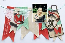 Scrapbook Page Ideas / by Lisa Gordy