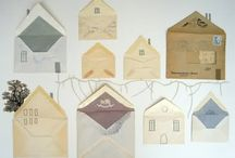 Vintage envelopes / by Brierley & Clover