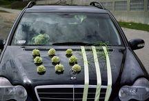 wedding cars / dekoracja auta