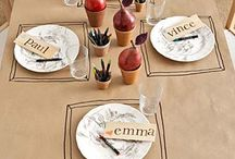 Table Settings / by Iron Chef Shellie