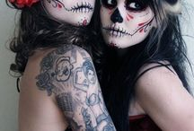 Face paint/ themed photo shoot ideas / by Allix Garner