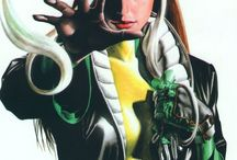 Rogue / Rogue ( Anna Marie ) is a fictional superhero appearing in American comic books , commonly in association with the X-Men.